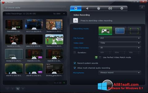 Screenshot Action! für Windows 8.1