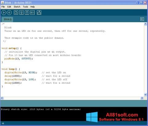 Screenshot Arduino für Windows 8.1