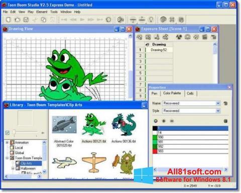 Screenshot Toon Boom Studio für Windows 8.1