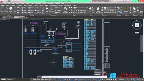 Screenshot AutoCAD Electrical für Windows 8.1