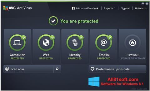 Screenshot AVG AntiVirus Pro für Windows 8.1