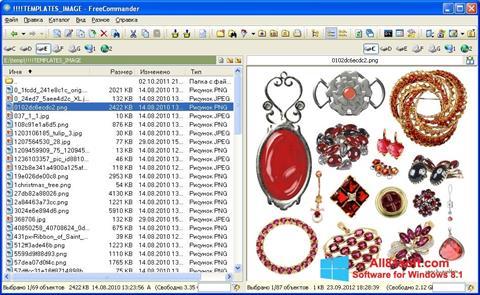 Screenshot FreeCommander für Windows 8.1