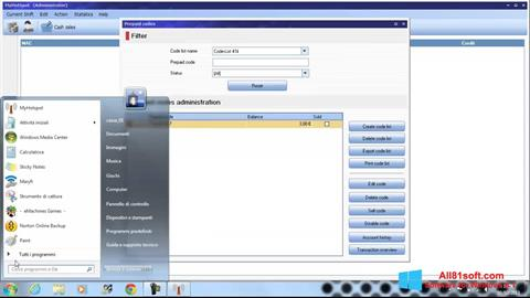 Screenshot MyHotspot für Windows 8.1