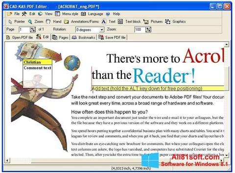Screenshot PDF Reader für Windows 8.1