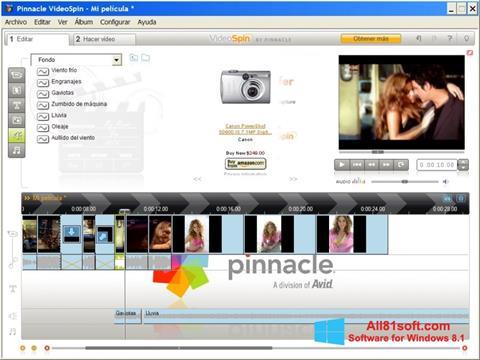 Screenshot Pinnacle VideoSpin für Windows 8.1