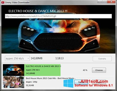 Screenshot Ummy Video Downloader für Windows 8.1