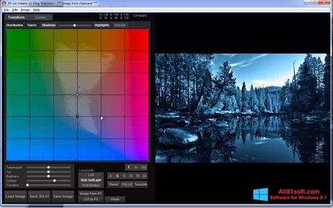 Screenshot 3D LUT Creator für Windows 8.1