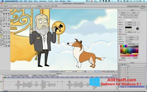 Screenshot Anime Studio für Windows 8.1