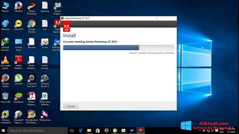 Screenshot Adobe Photoshop CC für Windows 8.1