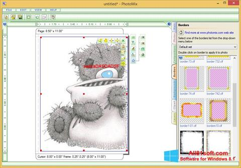 Screenshot PhotoMix Collage für Windows 8.1