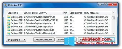 Screenshot Unlocker für Windows 8.1