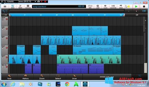 Screenshot NanoStudio für Windows 8.1