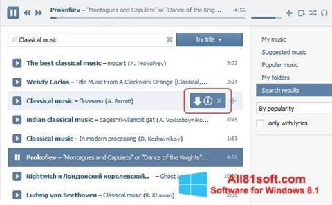Screenshot SaveFrom.net für Windows 8.1